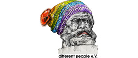 Logo different people e.V.