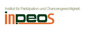 Logo inpeos - institute for participation and equal opportunities e.V.